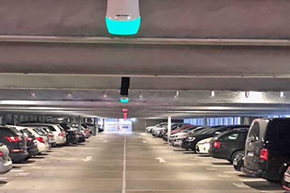 Stellplatzerkennun für Parkhäuser nachrüsten